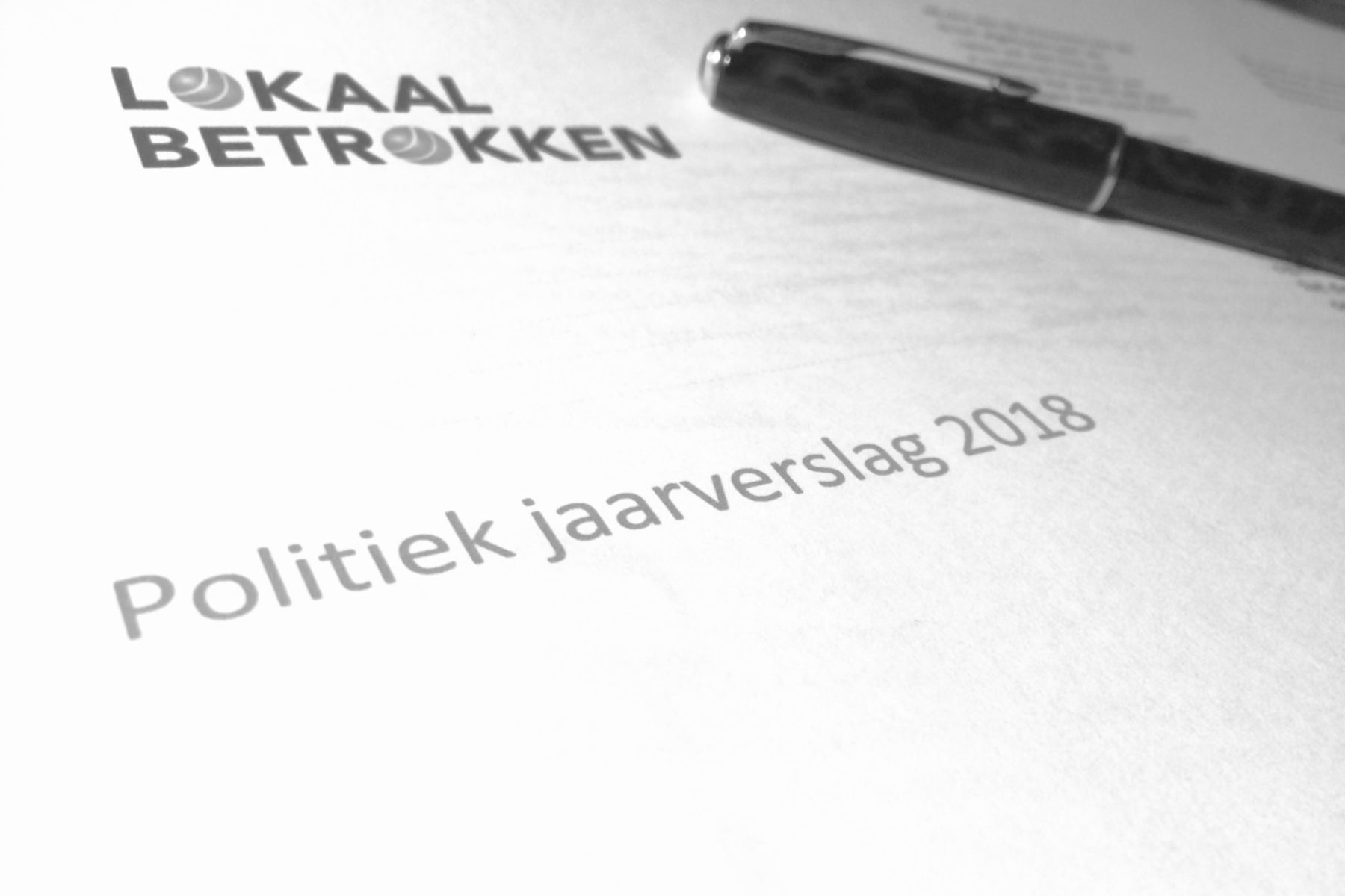 Politiek Jaarverslag 2018