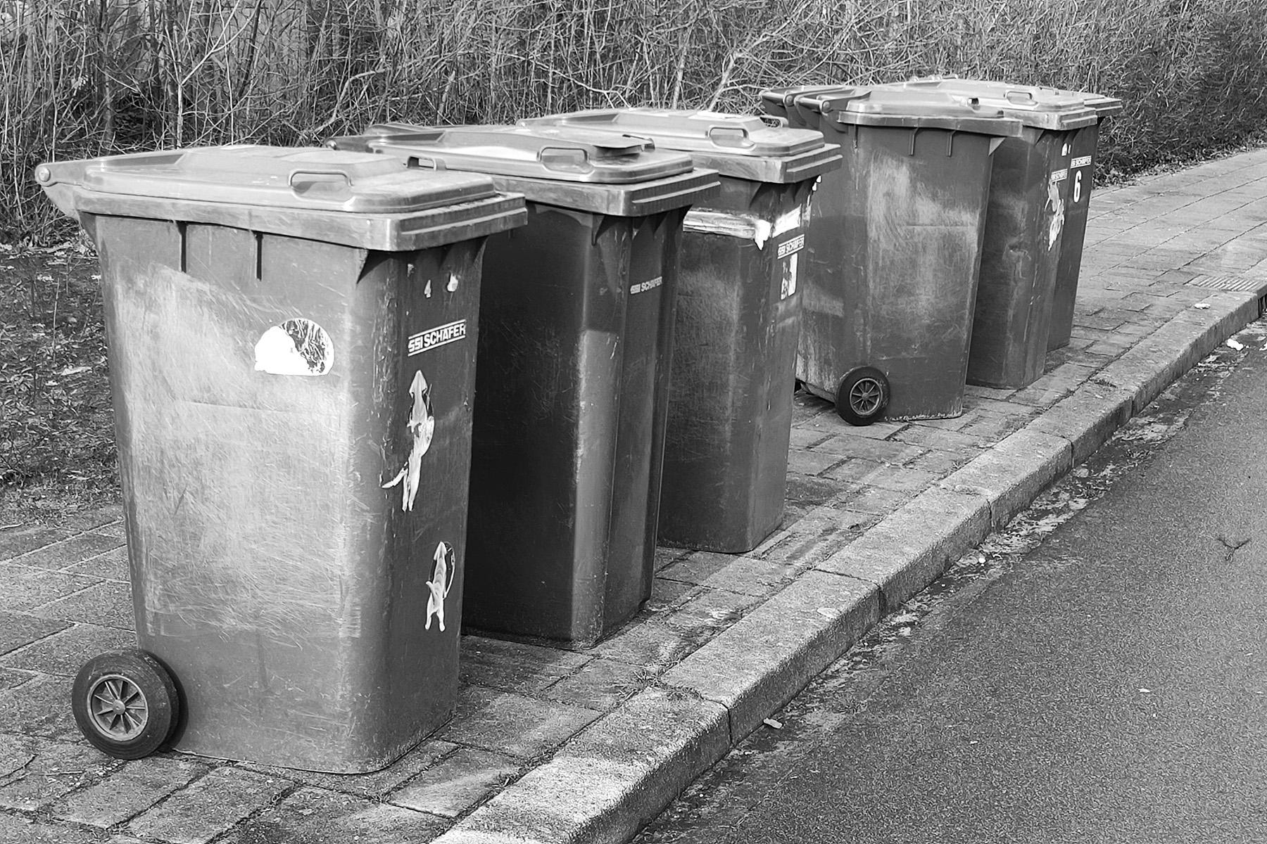 Nog teveel afval in de grijze container